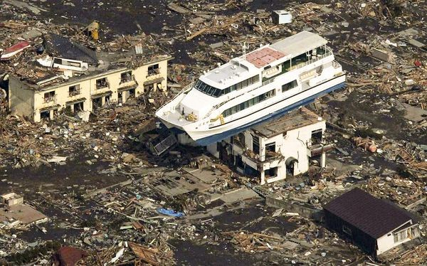 tsunami flood image